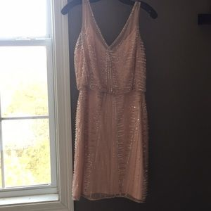 Cocktail Dress in Blush